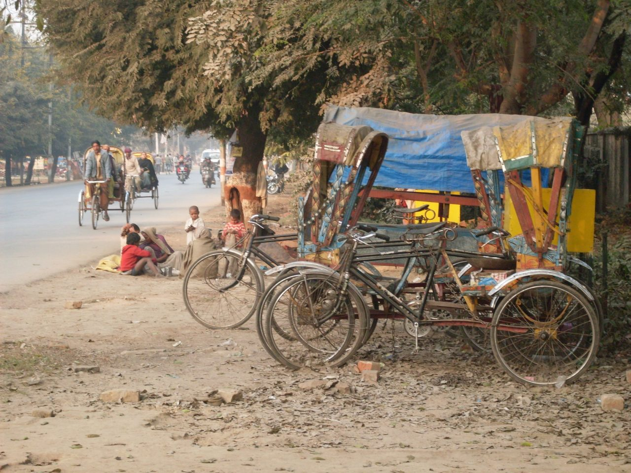Vision for Asia Blankets for Rickshaw Drivers
