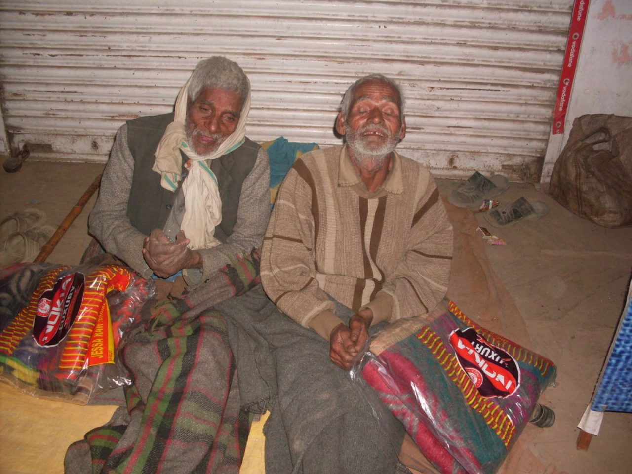 Blankets for Rickshaw Drivers