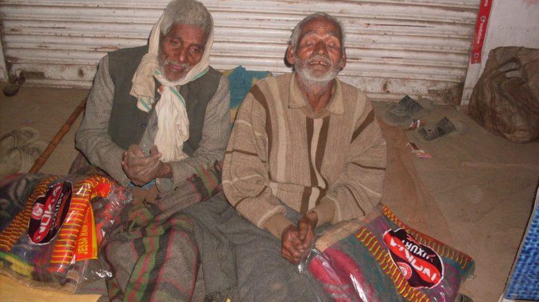 Blankets for Rickshaw Drivers