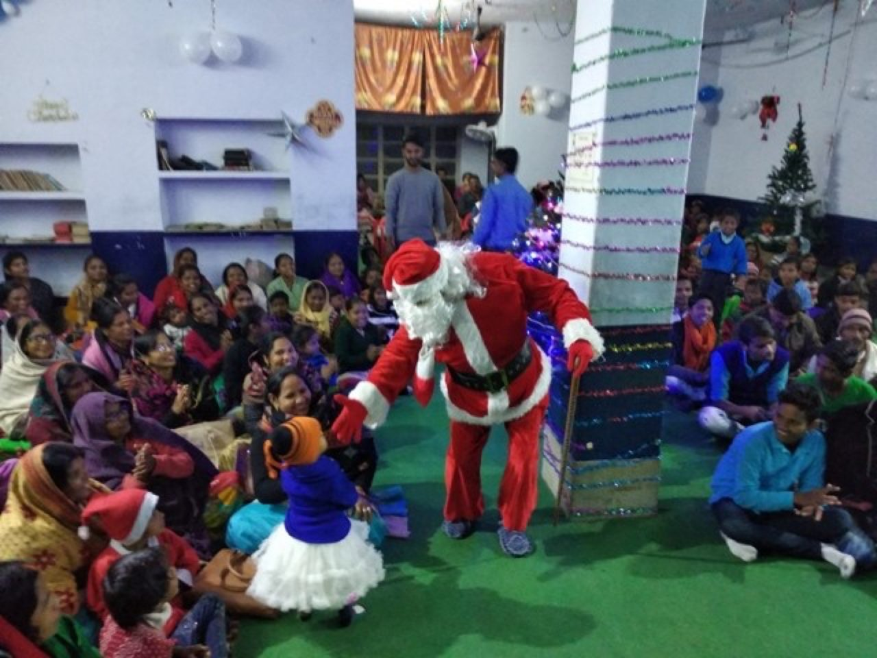 Father Christmas in Asia