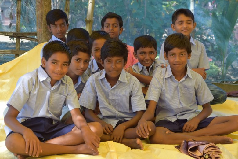 Boys at Rupamari School