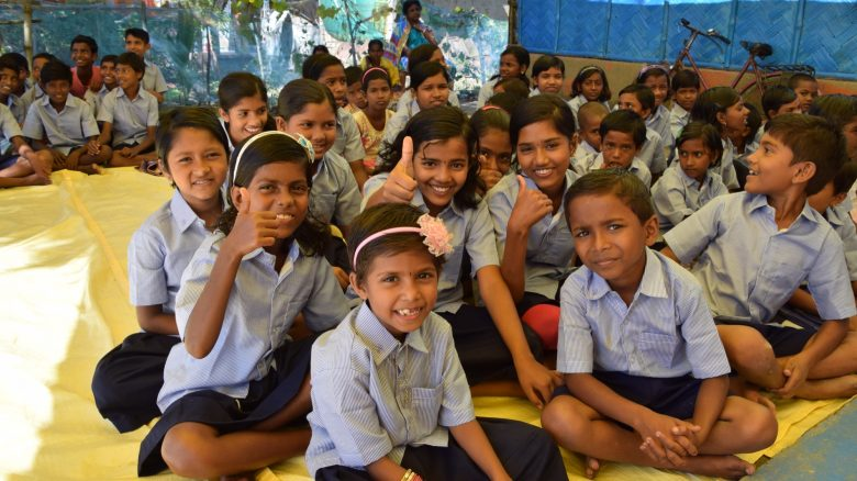 Rupamari School classroom